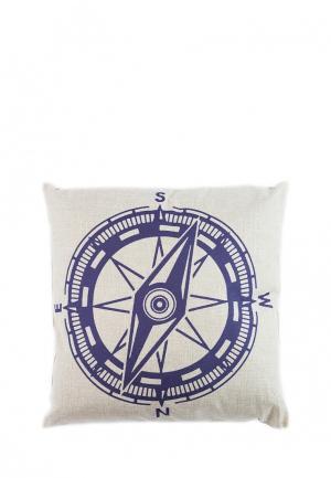 Подушка декоративная La Pastel. Цвет: синий