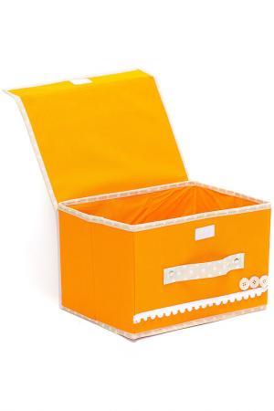 Коробочки для хранения 2шт. HOMSU. Цвет: оранжевый