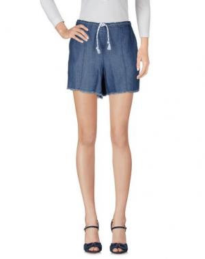Джинсовые шорты DIXIE. Цвет: синий