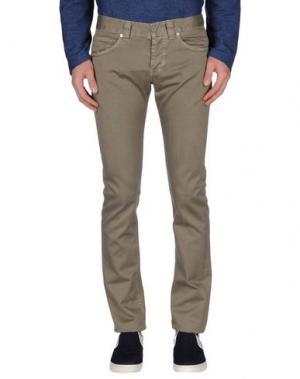 Повседневные брюки DONDUP. Цвет: серый