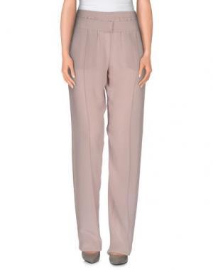 Повседневные брюки PINKO UNIQUENESS. Цвет: розовый