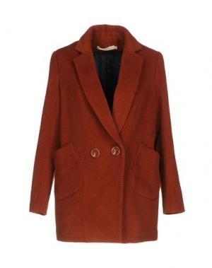 Пальто NICE THINGS by PALOMA S.. Цвет: коричневый