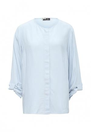 Блуза Sinequanone. Цвет: голубой