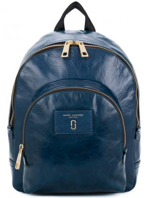 Рюкзак с застежкой-молнией Marc Jacobs. Цвет: синий