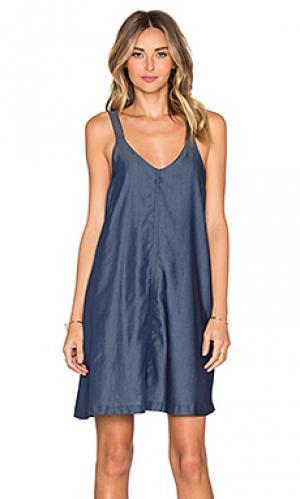 Платье sisilia VIVIAN CHAN. Цвет: синий