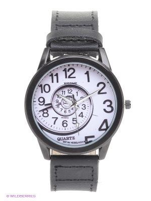 Часы Mitya Veselkov Спираль времени. Цвет: черный, белый