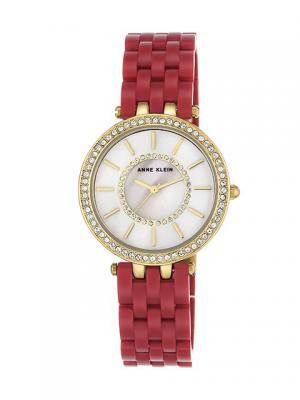 Часы ANNE KLEIN. Цвет: красный