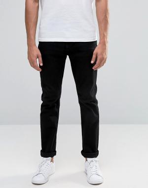 Troy Облегающие джинсы. Цвет: черный