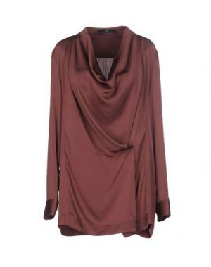 Блузка SLY010. Цвет: пурпурный