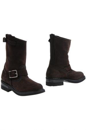 Ботинки Walker. Цвет: коричневый