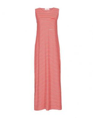 Длинное платье JUCCA. Цвет: красный