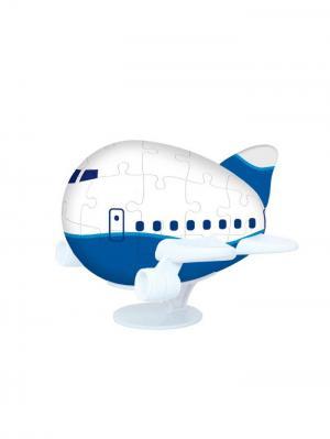 Сфера Пазлы  3D Шаровые Аэроплан Склад Уникальных Товаров. Цвет: белый, синий
