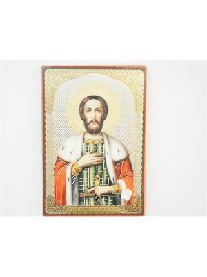 Именная икона Александр Bethlehem Star. Цвет: коричневый