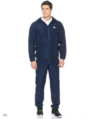 Костюм WV PRIDE TS  CONAVY/WHITE Adidas. Цвет: темно-синий