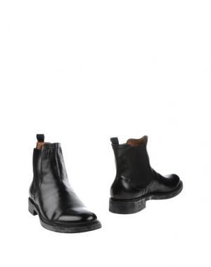 Полусапоги и высокие ботинки ANGELO NARDELLI. Цвет: черный