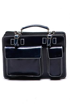 Деловая сумка Isabella Rhea. Цвет: синий