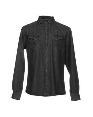 Джинсовая рубашка WRANGLER. Цвет: стальной серый