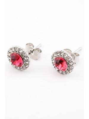 Серьги Inesse M. Цвет: розовый