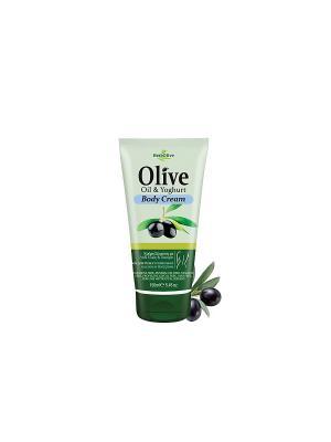 Герболив крем для тела с йогуртом, 150мл Madis S.A.. Цвет: оливковый