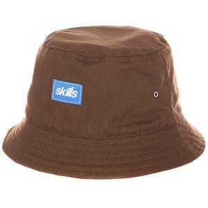 Панама  Ss16 Brown Skills. Цвет: коричневый