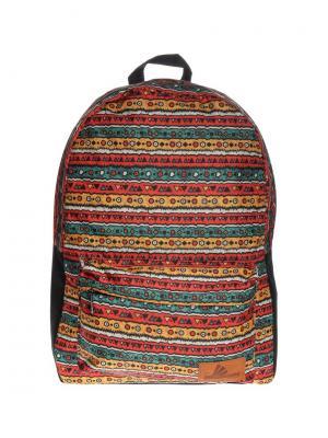 Рюкзак ПодЪполье. Цвет: оранжевый, зеленый, красный