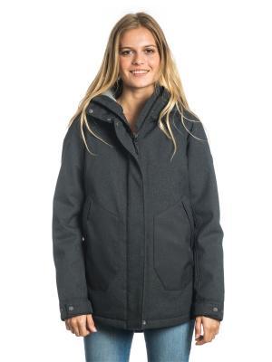 Куртка  AMAYA JACKET Rip Curl. Цвет: антрацитовый, серый, темно-серый