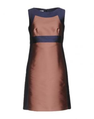 Короткое платье PIU' &. Цвет: пастельно-розовый