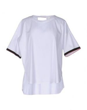 Блузка SUOLI. Цвет: белый