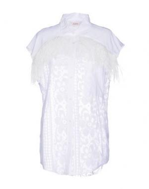 Pубашка JUCCA. Цвет: белый