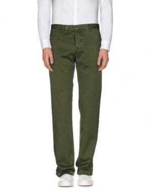 Повседневные брюки ALAIN FRACASSÍ. Цвет: зеленый-милитари