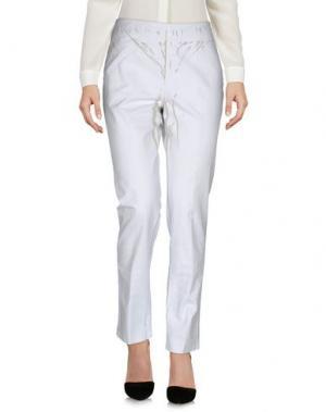 Повседневные брюки POLLINI by RIFAT OZBEK. Цвет: небесно-голубой