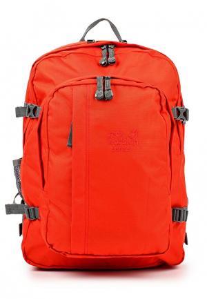 Рюкзак Jack Wolfskin. Цвет: красный