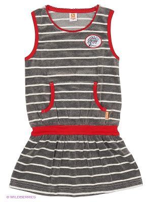 Платье Goldy. Цвет: серый