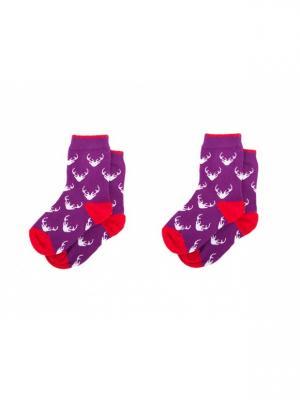 Набор носков детский Sammy Icon. Цвет: индиго, белый