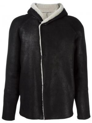 Куртка с капюшоном Salvatore Santoro. Цвет: чёрный