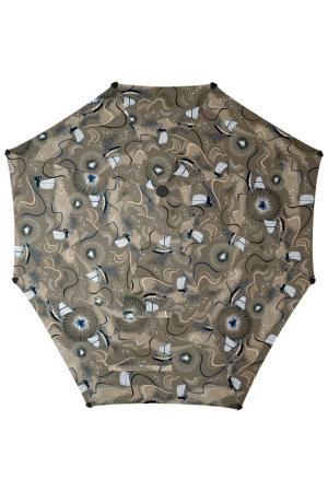 Зонт-трость SENZ. Цвет: коричневый