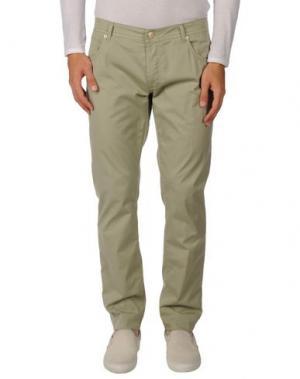 Повседневные брюки RICHARD JAMES BROWN. Цвет: светло-зеленый
