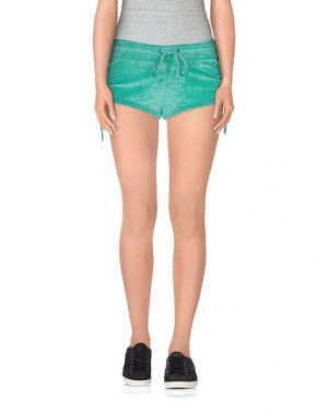 Повседневные шорты F**K PROJECT. Цвет: светло-зеленый