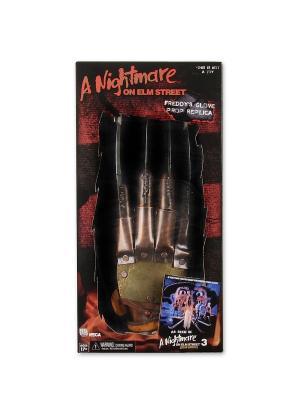 Фигурка Перчатки Nightmare on Elm Street 3: Dream Warriors Freddy Glove Neca. Цвет: коричневый, золотистый