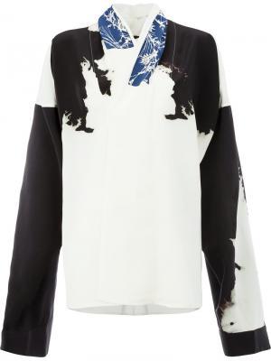 Printed blouse Haider Ackermann. Цвет: белый