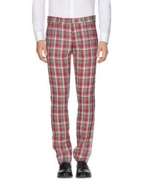 Повседневные брюки DOMENICO TAGLIENTE. Цвет: пурпурный