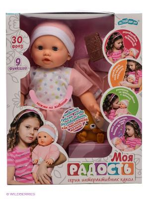 Кукла интерактивная Моя Радость ЗАТЕЙНИКИ. Цвет: бежевый, розовый