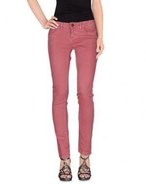 Джинсовые брюки YES LONDON. Цвет: пастельно-розовый
