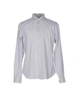 Pубашка ALESSANDRO GHERARDI. Цвет: светло-серый
