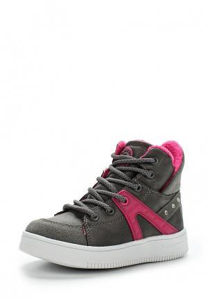 Ботинки Зебра. Цвет: серый