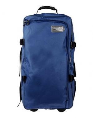 Чемодан/сумка на колесиках MOMO DESIGN. Цвет: синий