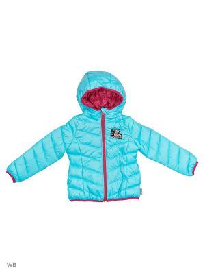 Куртка BOOM. Цвет: бирюзовый, серо-зеленый