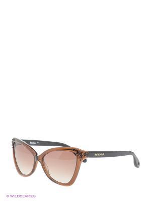 Очки солнцезащитные BLD 1503 203 Baldinini. Цвет: черный, коричневый