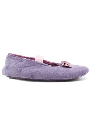 Балеринки Isotoner. Цвет: фиолетовый
