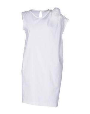 Короткое платье HOPE COLLECTION. Цвет: белый